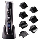 Cordless Clippers Hair Clippers for Men Hair Cutting Machine with Titanium Ceram