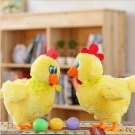 1pcs 30cm Funny Doll Raw Chicken Hens will lay eggs of chickens crazy singingam