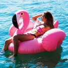 Flamingo Pool Float Giant Inflatable 150CM 60 Inch Pink Ride On Swimming Ring