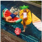 Inflatable Pool Float Giant 5 Style Swan Watermelon Floats Pineapple Water Mat