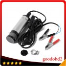 Diesel Water Oil Fuel Transfer Pump Car Truck Submersible 12v Dc Camping Tool