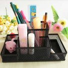 Office Organizer Metal Cosmetic Pencil Pen Holders Container Office Supplies