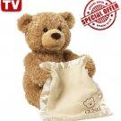 Baby Gund Peek-A-Boo Teddy Bear Animated Stuffed Animal 320193