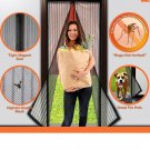 Insect Screen Mosquito Net Magnetic Curtain Magic Mesh Magnetic & Free Shipping