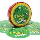 romancard flash pair sports board game for spot kids metal box card game