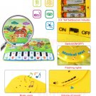 Adorable Piano Music Carpet for Kids - 37x60 cm - Multicolor - Free Shipping !!!