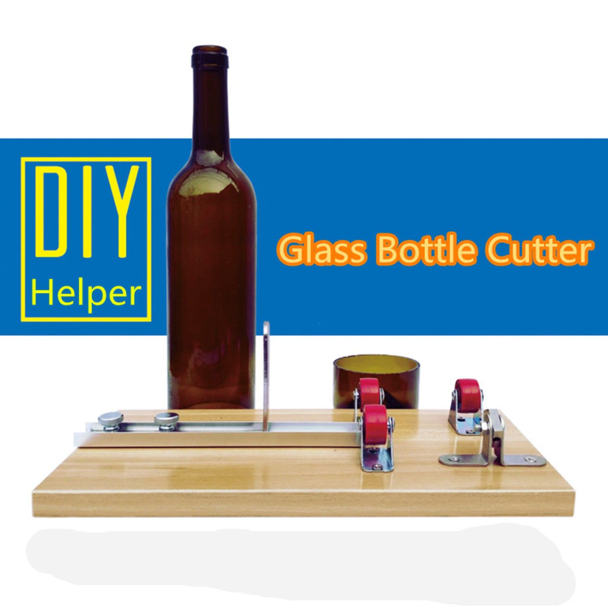 Beer Wine Bottle Cutters Machine Glass Sculpture Art Cutting DIY Recycle Tool