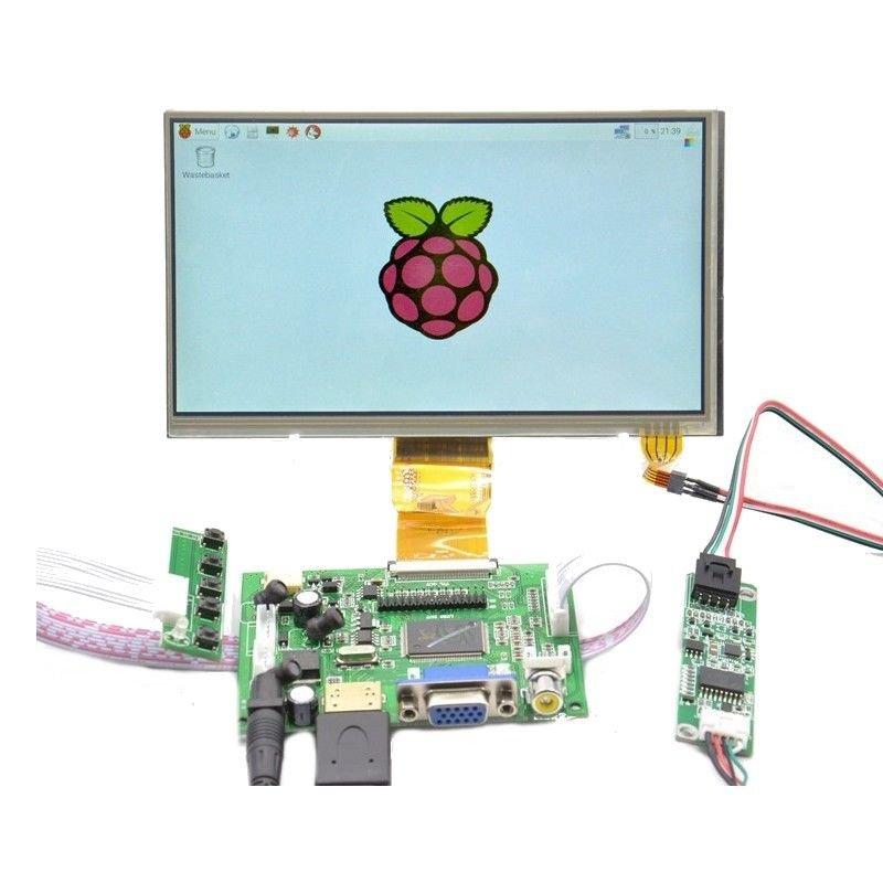 Raspberry Pi 7 inch HD 1024 * 600 Touch Screen Module Kit