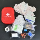 120pcs/pack Safe Camping Hiking Car First Aid Kit Medical Emergency Treatment