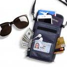 Travel Passport Holder RFID Blocking Storage Bag Waterproof Neck Wallet Organize