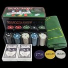 Bargaining Poker chips set 200pcs Poker chips amp Poker table blackjack layout