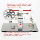 Mini Hot Air Stirling Engine Model Miniature Steam Gas Engine External Combustio