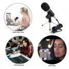 MK-F200FL Professional Handheld Condenser Microphone USB Computer Microphone Sta