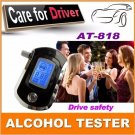 Professional Police Digital Breath Alcohol Ter Alkohol Breathalyzer Indicator