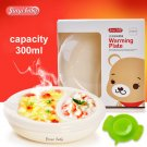 Non-slip Baby Warming Plate Spill Proof Suction Bowl keep food warm container