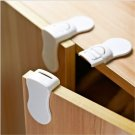 Safety Cabinet Locks Baby Proofing Protection Kitchen Drawer Fridge Child 4 Pcs