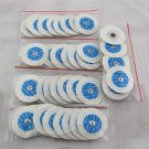 US Seller Electrode Pads Electric Tens Acupuncture Therapy Massager Healthy Pads