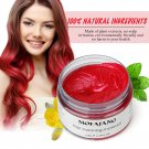 Hair Color Pomades MOFAJANG Wax Mud Dye Styling Cream Disposable DIY Red Colors