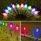 1/10pcs Outdoor Garden Stainless Steel LED Solar Landscape Path Lights Yard Lamp