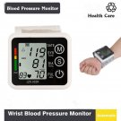 LCD Sphygmomanometer Meter Arm/Wrist Blood Pressure Monitor Pulse Health Care