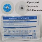 Disposable 50pcs/Bag Sealed Electrode Pads Patches Home ECG EKG Heart Monitor