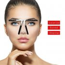Tattoo Eyebrow Ruler Three-Point Permanent Makeup Stencil Shaper Balance Ruler