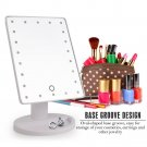 Portable Adjustable 16 LEDs Light Tabletop Touch Screen Makeup Cosmetic Mirror