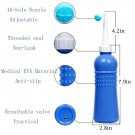 Anal/Vaginal Bulb Douche Colonic Irrigation Enema Rectal Cleaner 420ml Blue