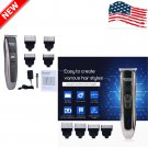 Professional Hair Cutting Kit Professional Barber Mchine Clipper Haircut Trimmer