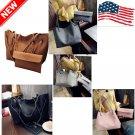 Leather Tote Bag for Women Large Composit Handbag Shoulder Bag Lady Zipper Women