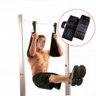 Home Fitness AB Sling Straps Abdominal Carver Hanging Belt Chin Up Sit Up Bar