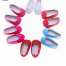 "6 New Arrival Hot Doll Shoes For 14.5"" Wellie Wishers Doll(Only Shoe) New Best"