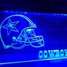 Dallas Cowboys Helmet LED Neon Light Sign Bar Pub Decor Club Home Beer Lamp