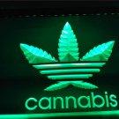 Cannabis Weed Hemp Weed High Life NEW Light Sign Home Decor Crafts Club Pub Bar