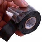 Universal Waterproof Black Silicone Repair Tape Bonding  Water Pipe Repair Tape
