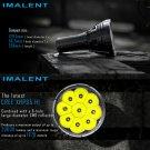 Imalent R90C CREE XHP35 HI LED Rechargeable Flashlight Searchlight 20000 Lumen