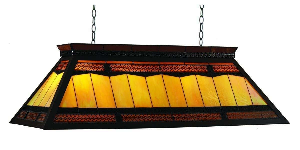 RAM Gameroom Products 44-Inch Filigree Pool Billiards Table Light with KD Frame