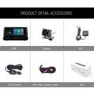 Junsun E35 DVR Car Camera 4G ADAS Android 5.1 FHD 1080P Video Recorder RAM 1G