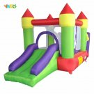 Inflatable 3 In 1 Trampoline Inflatable Jumping House Air Castle With Ocean Ball