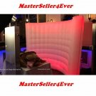 Inflatable 10ft * 8ft Lighting Wall For Photo Booth w/LED Lights&Internal Blower
