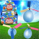 10PCS Wholesale Colorful Traditional Classic Balloon Helicopter Portable Flying Toy