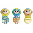 Face-Changing Phone Toy With Sound Effect Children's Early Educational Puzzle Musical Toys