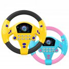 1 PC Learn and Play Driver Baby Steering Wheel Toddler Musical Toys with Lights Sounds