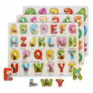 Colorful Wooden Alphabet/Math/Number Jigsaw Puzzle Toy Intelligence Early Education Toys