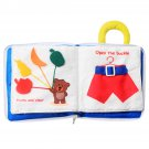 Infant Early Education Soft Cloth Books Baby Learning Activity Practice Hands Book Toys