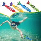 4Pcs Creative Colorful Summer Diving Throwing Rocket Torpedoes Underwater Toys for Children Gift