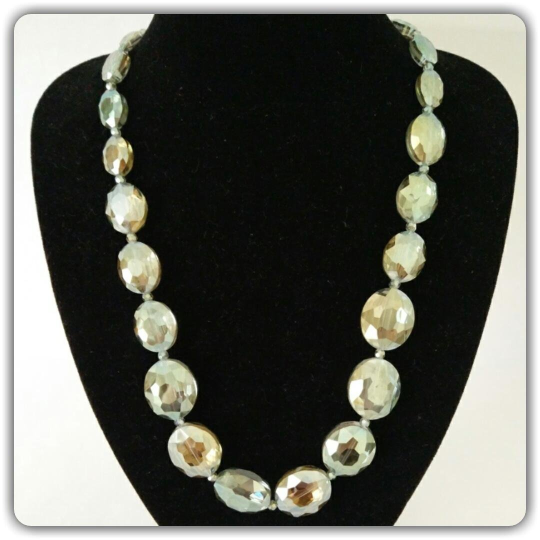 Latest Arrival Handmade Shining Crystal Glass Necklace