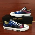 Low Top Galaxy Converse Shoes Custom Hand Painted Canvas Sneakers Men Women Unique Christmas Gifts