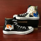 Converse All Star Natsume's Book of Friends Shoes Custom Hand Painted Canvas Sneakers Unique Gifts