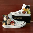 Men Women Converse All Star Cowboy Bebop Custom Hand Painted Shoes High Top Canvas Sneakers Gifts
